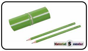 Lapiz diseño caña de bambú Divine Design Material Escolar