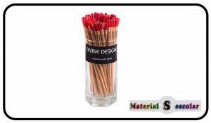 surtido lapices slim lapices delgados de madera Divine Design Material Escolar