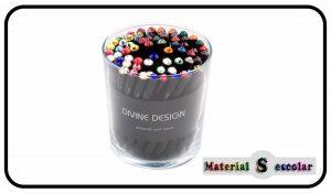 lapices con swarovski Divine Design Material Escolar