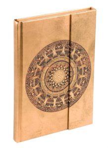 libro fantasia con cierre magnetico y hojas pautadas o blancas