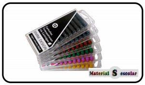 tintas de colores para plumas, plumillas y material escolar Divine Design Material Escolar