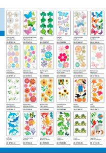 pegatinas stickers de flores animales